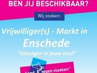 Vrijwilligers gezocht voor de markt in Enschede