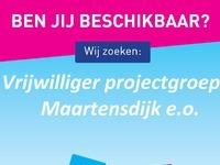 Vrijwilliger projectgroep Maartensdijk