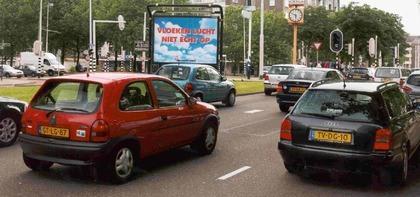 Billboard in Rotterdam.