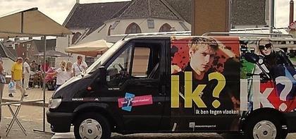 1e Bond-promotiebus in Katwijk.