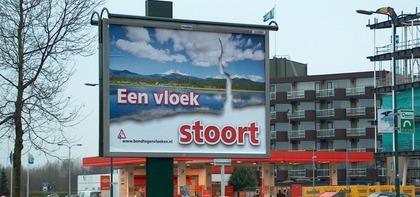 Billboard bij Leusden.